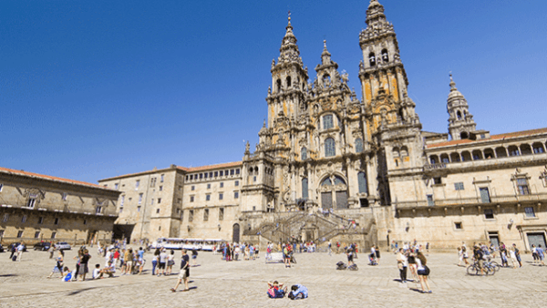 En Santiago de Compostela