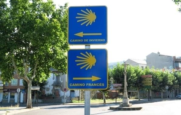 Existe informacion de varios Caminos de Santiago