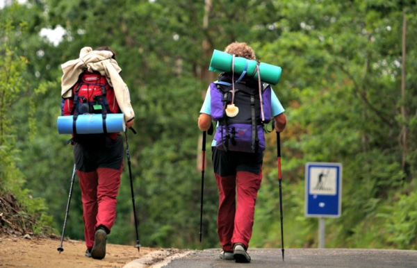 la mochila para hacer el Camino de Santiago
