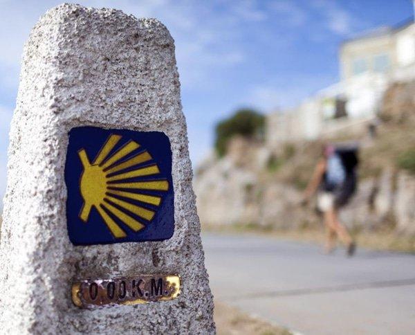 kilometro 0 Santiago de Compostela