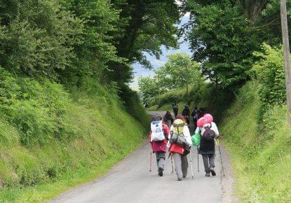 hacer el Camino de Santiago sin mochila