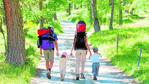 Camino de Santiago con ninos