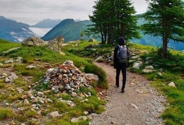Realizando Camino de Santiago en solitario