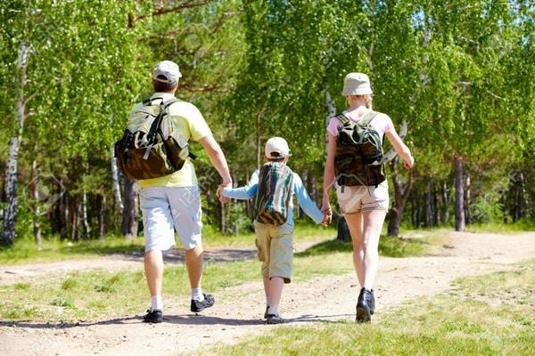Pasar tiempo con la familia en el Camino de Santiago