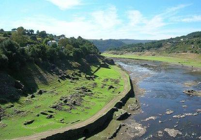 Viejo pueblo de Portomarín