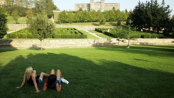Parque Belvís en Santiago de Compostela