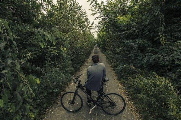 Hace el Camino en bicicleta