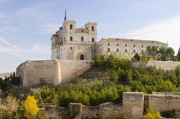 The Monastery of Uclés in the vicinity of Madrid