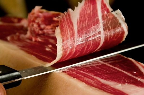 Ham is one of the most traditional dishes within this region.