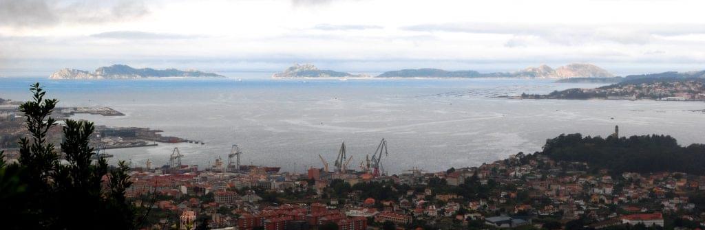 Vistas ría de Vigo