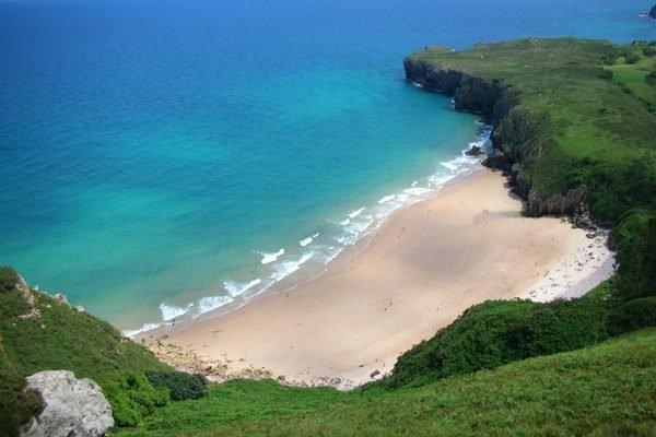 Andrin una de las Playas del Camino del Norte