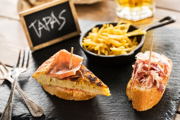 The Camino de Santiago: Eat some tapas around Galicia.
