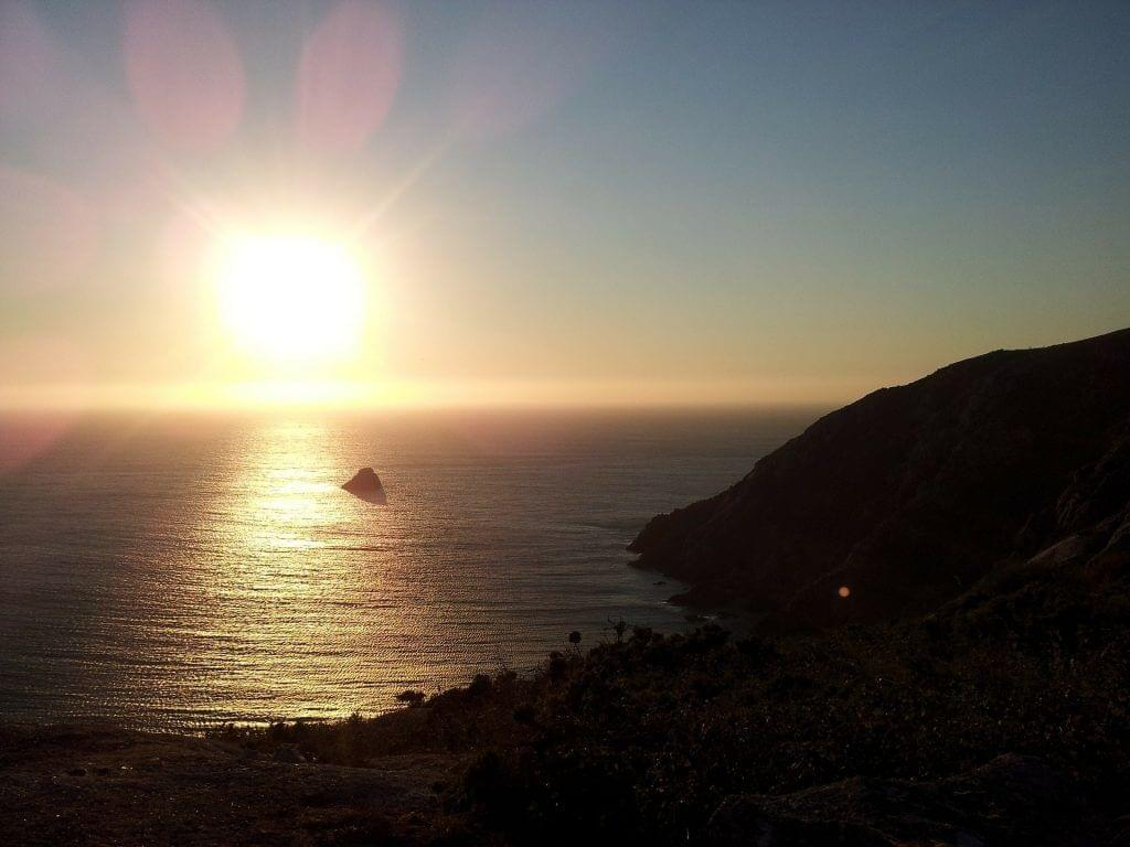 Sunset over Finisterre