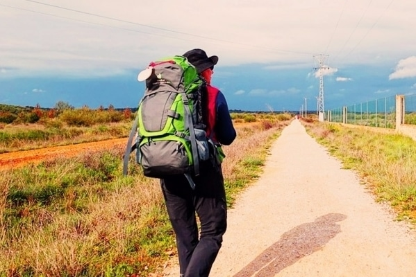Doing the Camino de Santiago in reverse