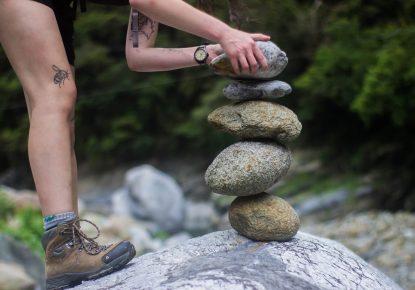 Stones as a tradition of the Camino de Santiago