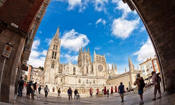 Vista de la ciudad de Burgos