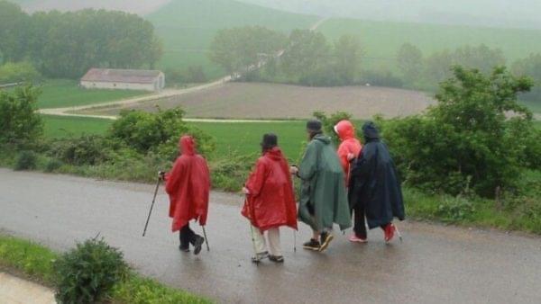 Hacer el Camino de Santiago con lluvia