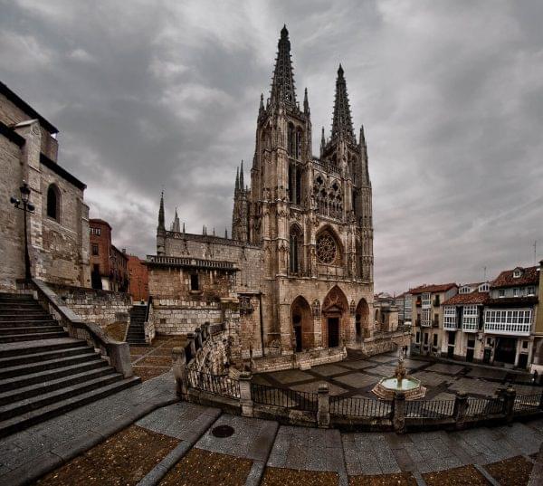 Estilo gotico de la Catedral de Burgos