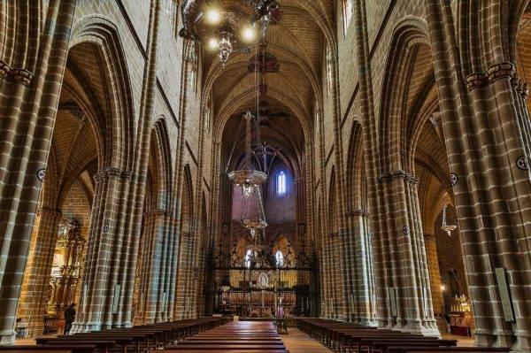Estilo gotico Catedral de Pamplona