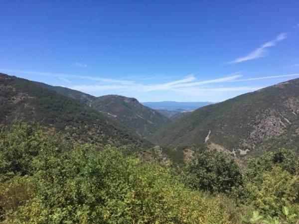 Vista de los Montes de Leon