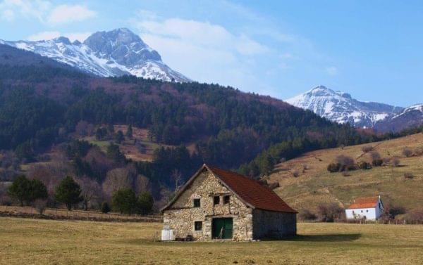 Vista del Pirineo Navarro