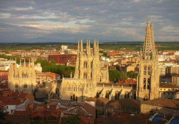 Foto de una primavera en Burgos