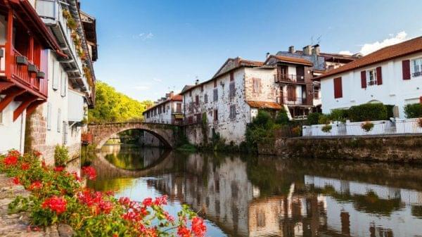 Puente medieval St Jean Pied de Port
