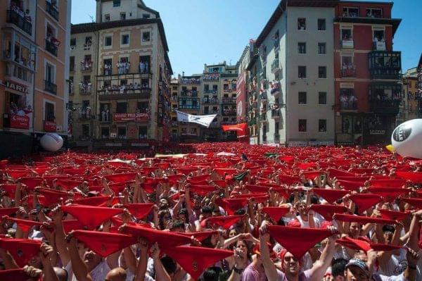 Fiestas de San Fermin en Pamplona