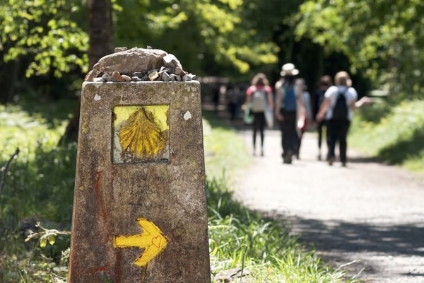 Doing the Camino de Santiago in an organized group is one of the many forms of pilgrimage that exist on the pilgrim route.