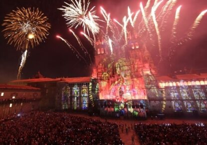 Arriving in Santiago de Compostela is always a magical and emotional moment for pilgrims.