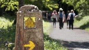 do the camino de santiago in easter