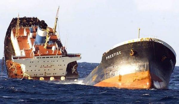 El naufragio del Prestige