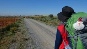 camino de santiago in easter