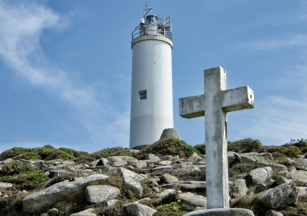 The Lighthouses Way is a route that runs along the coast of Galicia