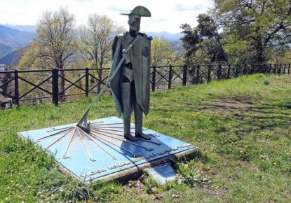 Distance and days in the Camino de Santiago