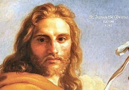 Apostle Santiago The Greater