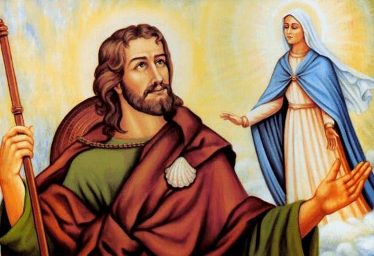 Imagen del apostol Santiago el Mayor