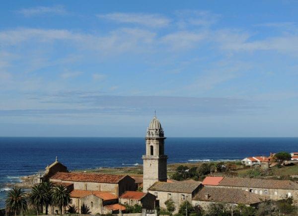 Camino Portugues vista de la costa atlantica