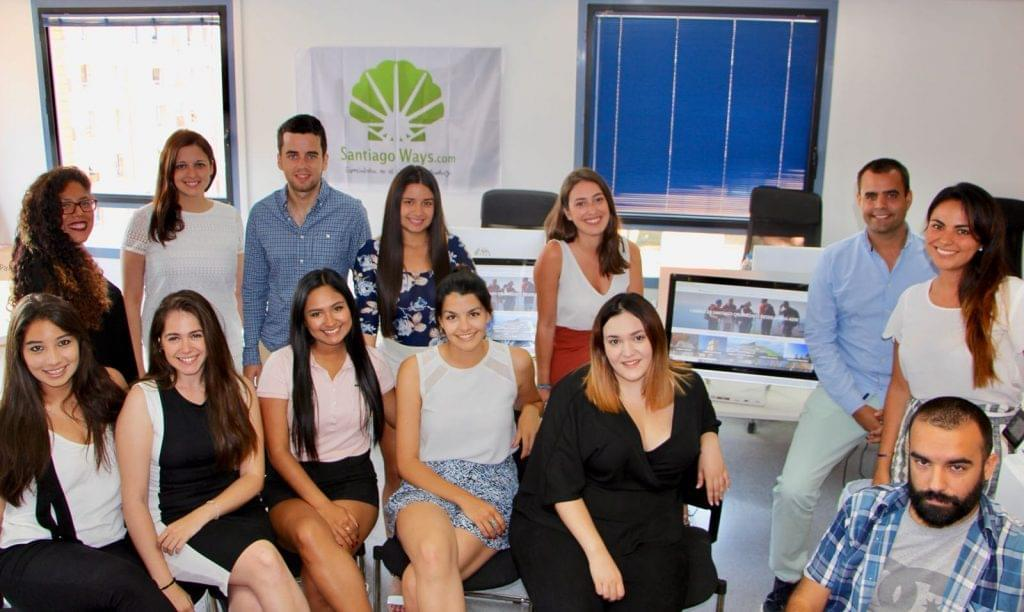 Equipo de Santiago Ways en 2018