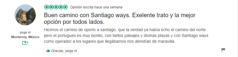 Opinion 4 Santiago Ways