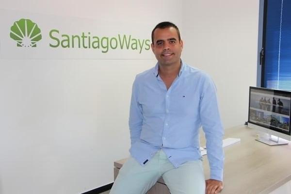 Joseba Menoyo fundador de Santiago Ways