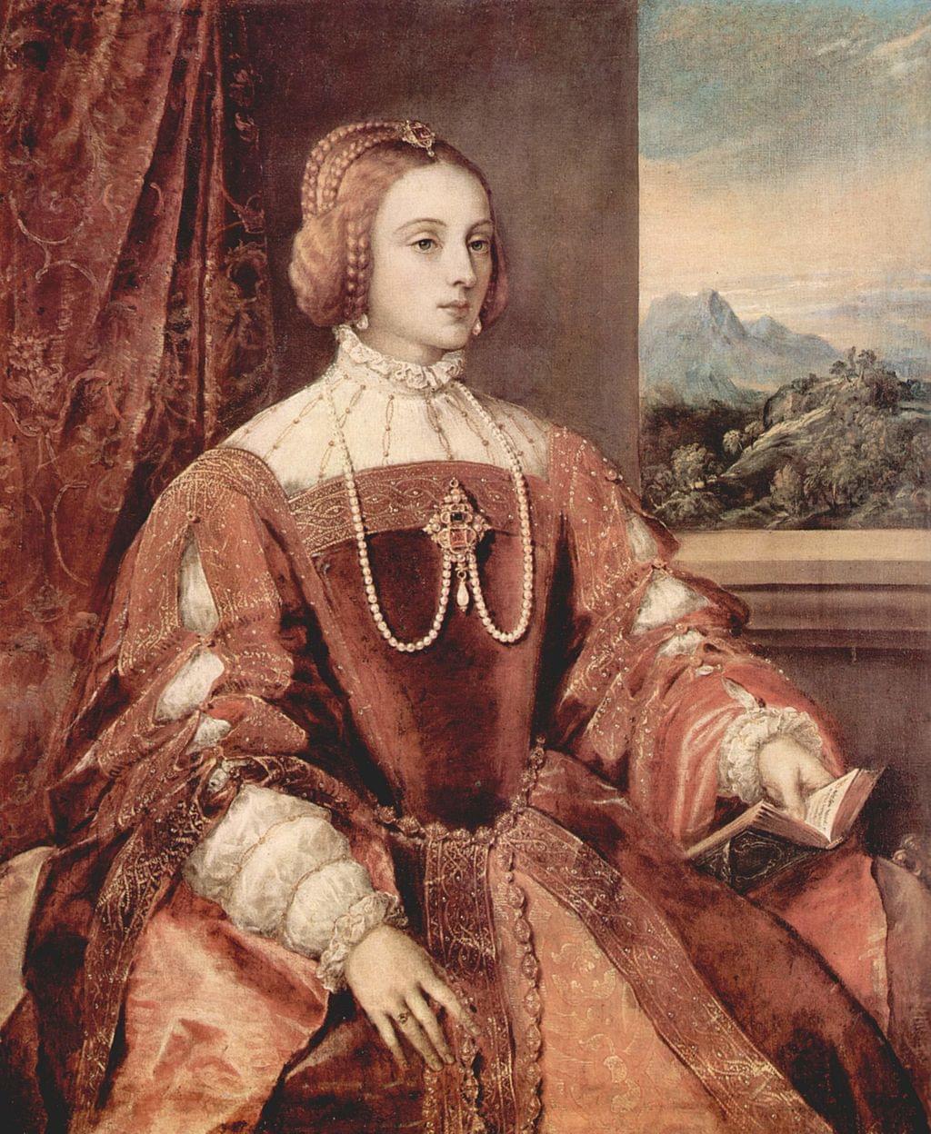 La reina Isabel de Portugal