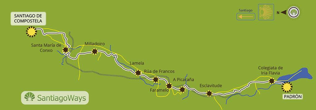 Padron a Santiago de Compostela