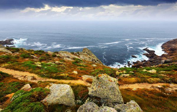 Otono en la costa de Galicia