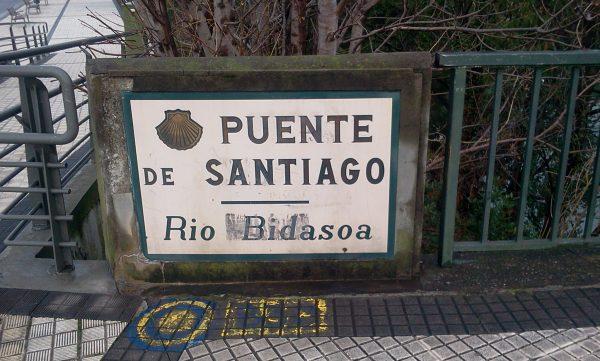 Puente de Santiago en Irún