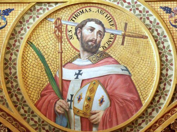 Santo Tomas Becket Arzobispo de Canterbury