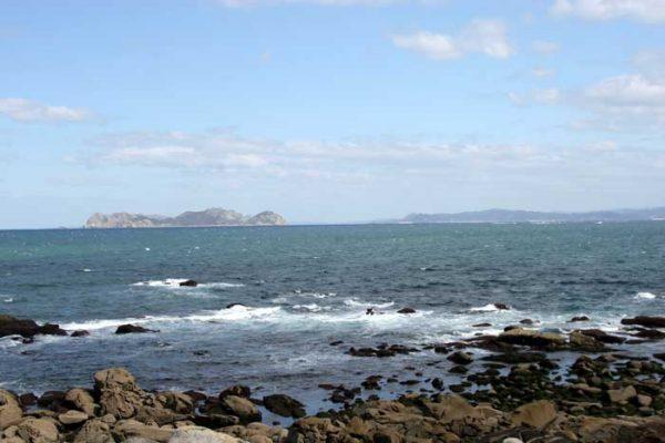 Islas Cies desde Baredo