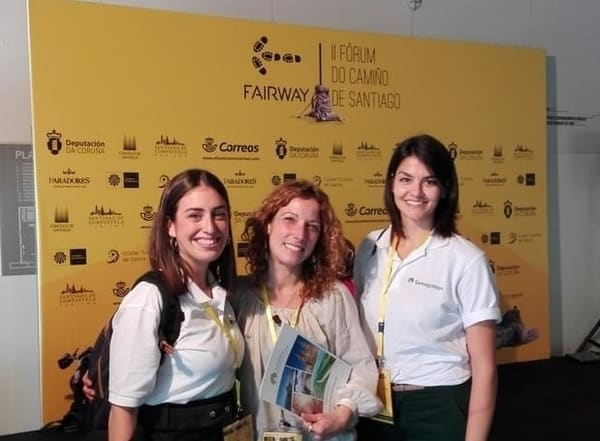 Silvia and Vanessa at Fairway in 2017