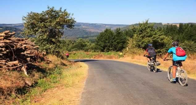 Camino en Bicicleta