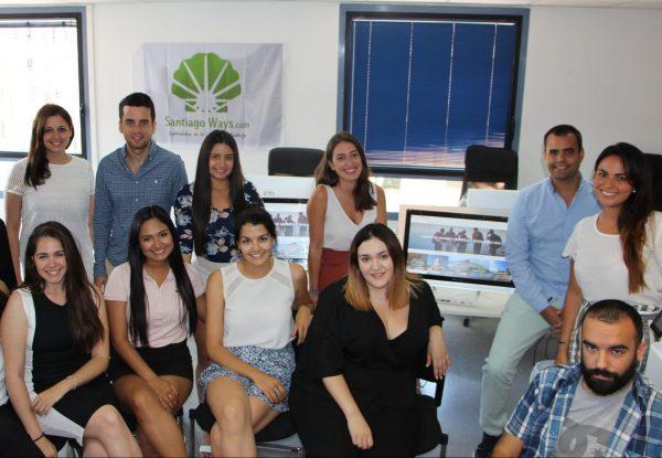 Team von Santiago Ways im Jahr 2018